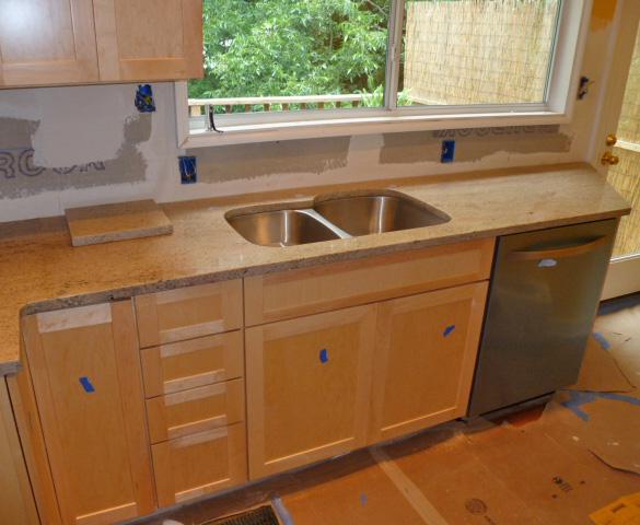 Big Bear Construction Small Kitchen Remodel