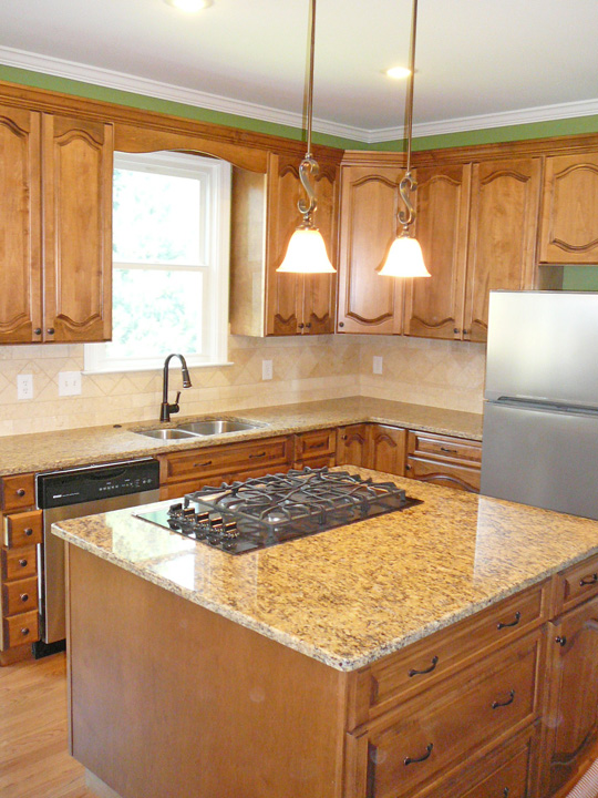 Big Bear Construction Kitchen Remodel With New Amp Refaced