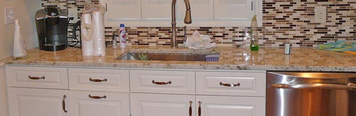 Custom Cabinets Granite Countertop